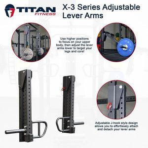 Titan X-3 Series Adjustable Lever Arms