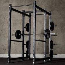 Load image into Gallery viewer, American Barbell Power Rack w/ Storage Extension and Safety Spotter Straps