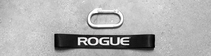 Rogue Grip Strap and Carabiner (1 each)