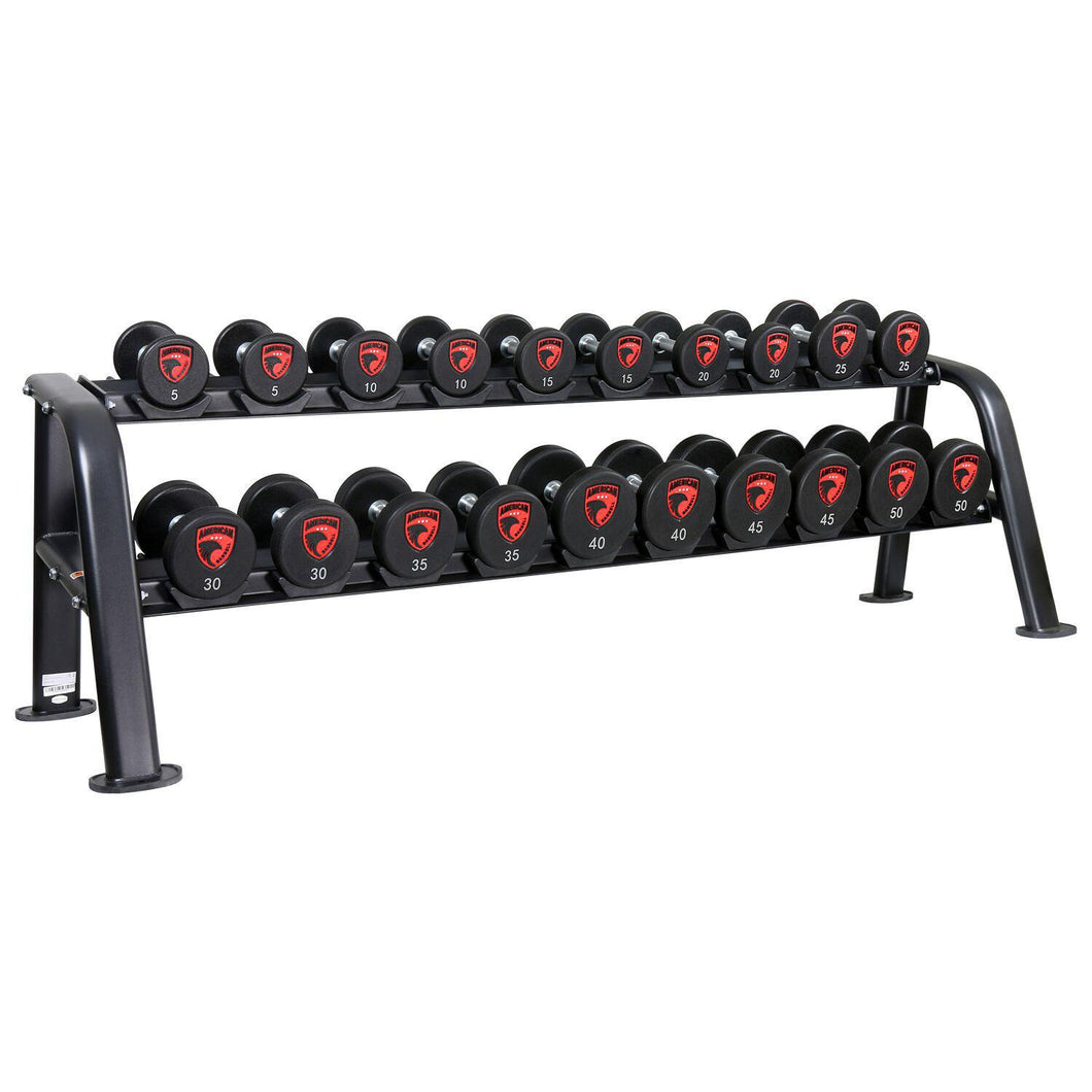 American Barbell Cradle Dumbbell Rack