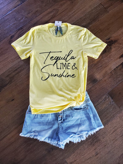 Tequila Lime and Sunshine Tee