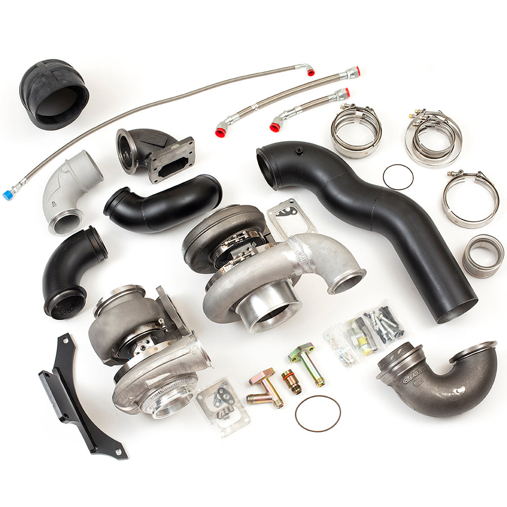 CAT C15/3406E COMPOUND TURBO KIT