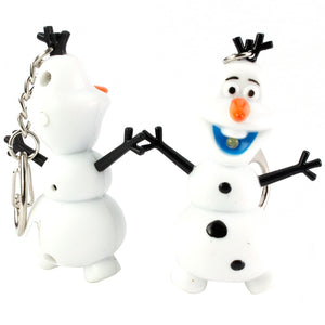 Xuebao LED Luminous Vocal Pendant Creative Keychain Snowman Christmas Gift - Find A Gift Fast