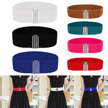 Load image into Gallery viewer, Women belt Skinny Elastic Ceinture Soft Leather Wide Self Tie Wrap Around Waist Band Simple Femme Vintage Dress Belt Accessories - Find A Gift Fast