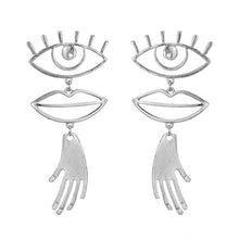 Load image into Gallery viewer, IPARAM Fashion Metal Punk Geometric Earrings - Find A Gift Fast