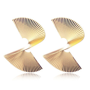 IPARAM Fashion Metal Punk Geometric Earrings - Find A Gift Fast