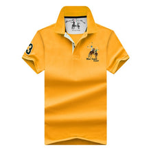 Load image into Gallery viewer, new Tops&Tees Men's Polo shirts Business men brands Polo Shirts 3D embroidery mens Breathable gym polo shirt - Find A Gift Fast