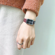 Load image into Gallery viewer, Fashion women vintage leather watches rectangle - Find A Gift Fast
