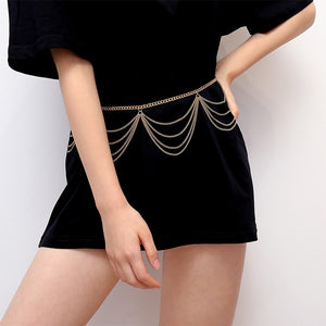 BLA Luxury Women Chain Belts Waistbands