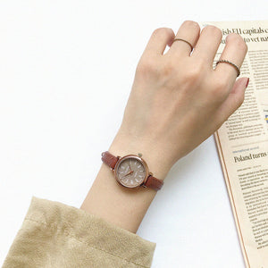 Retro Brown Women Watches Qualities Small - Find A Gift Fast