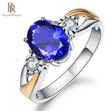 Load image into Gallery viewer, Bague Ringen Created Blue Sapphire Rings - Find A Gift Fast