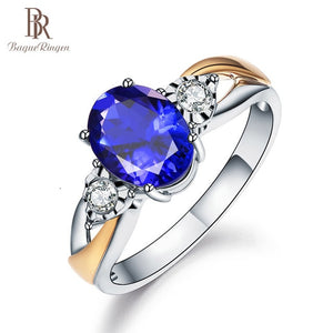 Bague Ringen Created Blue Sapphire Rings - Find A Gift Fast