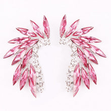 Load image into Gallery viewer, LUBOV Shining Rhinestone Wings Stud Earrings - Find A Gift Fast
