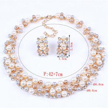 Load image into Gallery viewer, Fashion Pearl Jewelry Sets Women - Find A Gift Fast