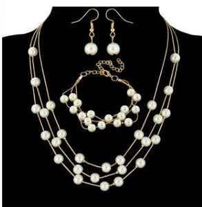 Fashion Pearl Jewelry Sets Women - Find A Gift Fast