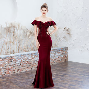 Elegant Evening Party Dress - Find A Gift Fast