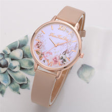 Load image into Gallery viewer, Fashion Women Watches Flower Pattern Quartz - Find A Gift Fast