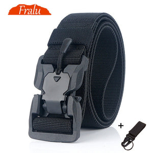 NEW Military Equipment Combat Tactical Belts for Men US Army Training Nylon Metal Buckle Waist Belt Outdoor Hunting Waistband - Find A Gift Fast