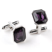 Load image into Gallery viewer, 5 Colors Luxury Blue Purple Cufflinks - Find A Gift Fast