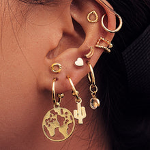 Load image into Gallery viewer, 2020 Bohemian Vintage Golden Alloy Earrings - Find A Gift Fast