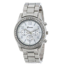 Load image into Gallery viewer, new geneva classic luxury rhinestone watch - Find A Gift Fast