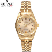 Load image into Gallery viewer, CHENXI Brand Top Luxury Ladies Gold - Find A Gift Fast
