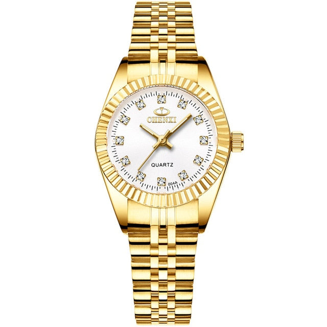 CHENXI Brand Top Luxury Ladies Gold - Find A Gift Fast