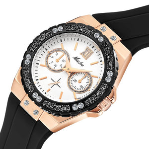 MISSFOX Women's Watches Chronograph Rose Gold - Find A Gift Fast
