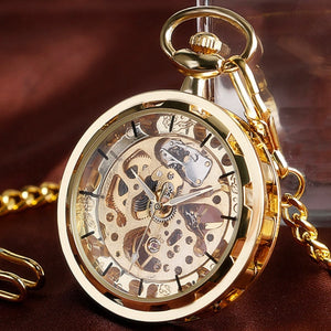 Vintage Watch Necklace Steampunk Skeleton Mechanical - Find A Gift Fast