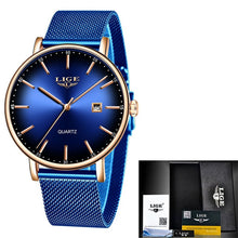 Load image into Gallery viewer, LIGE Women Watches Top Brand Luxury - Find A Gift Fast