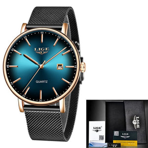 LIGE Women Watches Top Brand Luxury - Find A Gift Fast