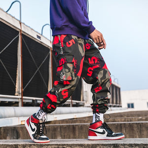 New Fashion Printed Men Harem Pants Hip Hop Casual Streetwear Joggers Men 2019 Summer Fashion Elastic Waist Trousers LBZ45 - Find A Gift Fast