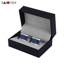 Load image into Gallery viewer, SAVOYSHI Low-key Luxury Star Stone Cufflinks - Find A Gift Fast