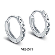 Load image into Gallery viewer, XIYANIKE 925 Sterling Silver Prevent Allergy Small Stud Earring for Women Wedding Couple Trendy Geometric Handmade Paety Jewelry