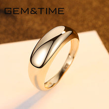 Load image into Gallery viewer, Gem&Time Real 14K Gold Engagement Ring