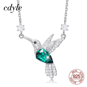 Cdyle Fashion Hummingbird Short Necklace