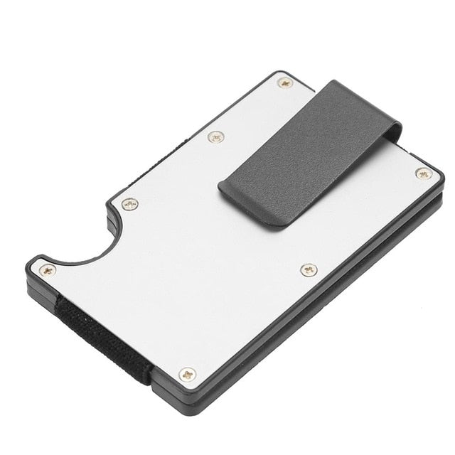 Stainless Steel Metal Credit Card Clips Wallet