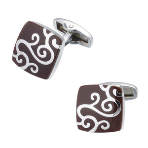WN Luxury shirt cufflinks mens - Find A Gift Fast
