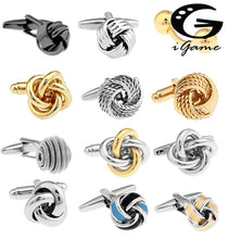 Load image into Gallery viewer, Free shipping Black Cufflinks men - Find A Gift Fast