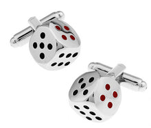 Load image into Gallery viewer, Free Shipping Men Cuff Links Gamble - Find A Gift Fast