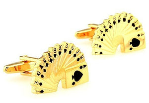 Free Shipping Men Cuff Links Gamble - Find A Gift Fast