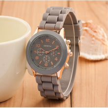 Load image into Gallery viewer, Luxury Brand Silicone quartz watch women - Find A Gift Fast