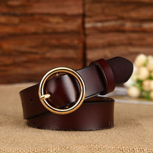 Load image into Gallery viewer, [DWTS]Leather Belts For Women luxury designer brand Belt female Buckle Ladies Belts Strap Students Belts for Women - Find A Gift Fast
