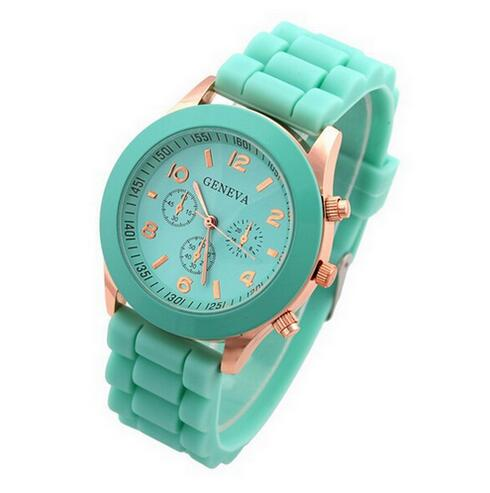 Luxury Brand Silicone quartz watch women - Find A Gift Fast