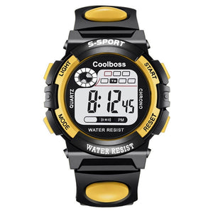 Children Watch Sport Kids Watches Silicone - Find A Gift Fast