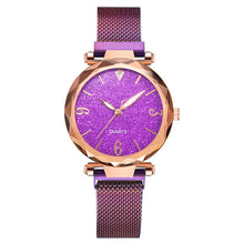 Load image into Gallery viewer, Rose Gold Women Watch 2019 Top Brand Luxury Magnetic Starry Sky Lady Wrist Watch Mesh Female Clock For Dropship relogio feminino - Find A Gift Fast