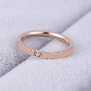 KNOCK Top Quality Concise Zircon Wedding - Find A Gift Fast