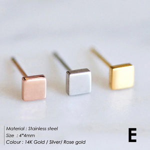 e-Manco korean style stainless steel stud - Find A Gift Fast