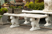 American Cast Griffin Straight Top Bench - Pair