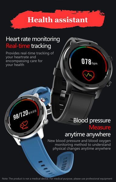 Your Health Assistant, The Formal/Sport Watch™ Blood Pressure, Oximeter Provides Heart Rate Monitoring and Real-Time Tracking For Your Health. Anytime, Anywhere Blood Pressure And Blood Oxygen Monitoring Method Help You To Better Understand Your Physical Changes. |  BuySpotUSA.com Exercise & Fitness Products
